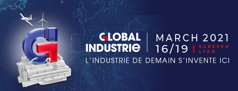 Salon Global Industrie Lyon 2021 Banner
